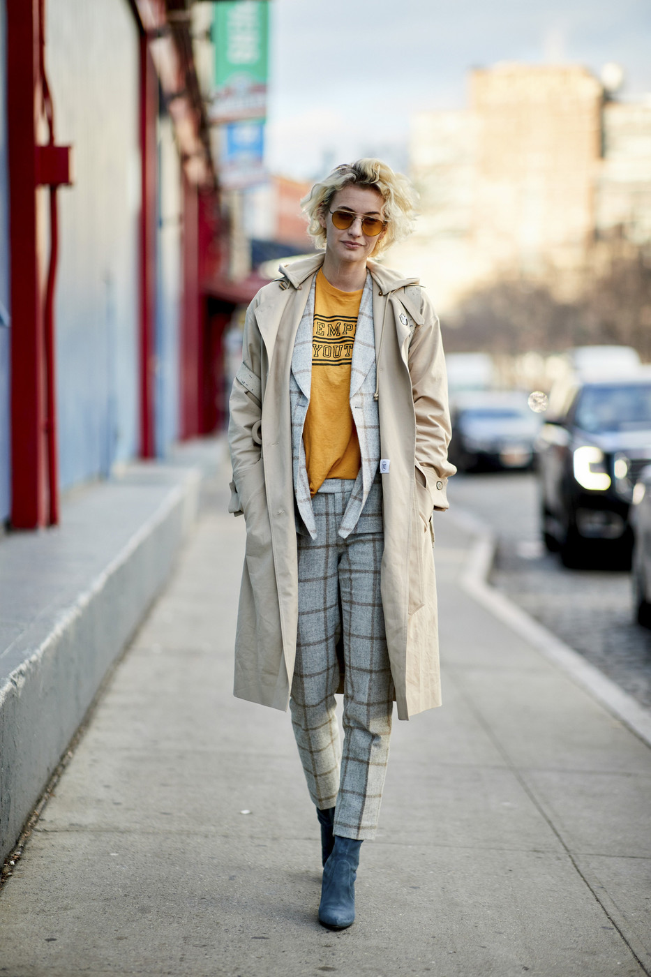 Grunge Chic Creative Winter Outfit Ideas From Nyfw
