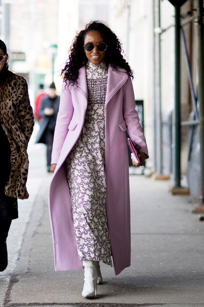 Pretty Purple Coat