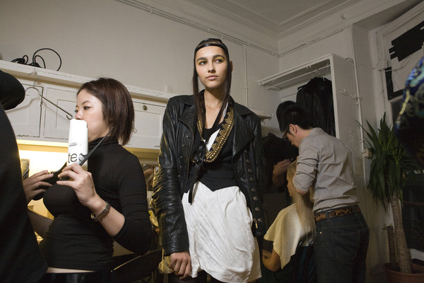 Fatima Lopes at Paris Spring 2009 (Backstage)