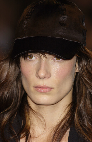 Fause Haten at Milan Spring 2004 (Details) [hair,face,clothing,chin,hat,lip,eyebrow,beauty,hairstyle,nose,supermodel,socialite,fause haten,hat,hair,hair,fashion,model,lip,milan fashion week,hat,bangs,hair m,model,supermodel,long hair,socialite,fashion,hair,beauty.m]