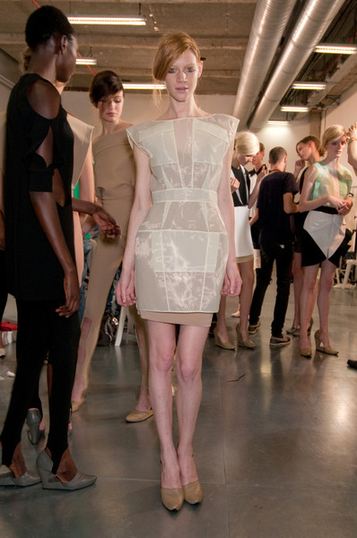 Felipe Oliveira Baptista at Paris Spring 2011 (Backstage)