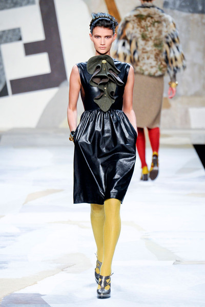 Fendi at Milan Fall 2011