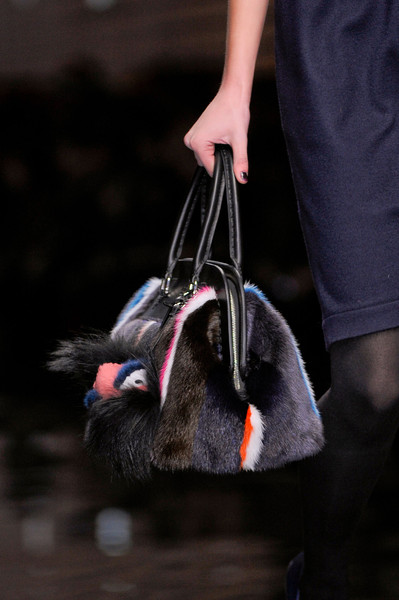 Fendi at Milan Fall 2013 (Details)