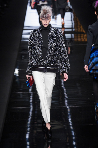 Fendi at Milan Fall 2013