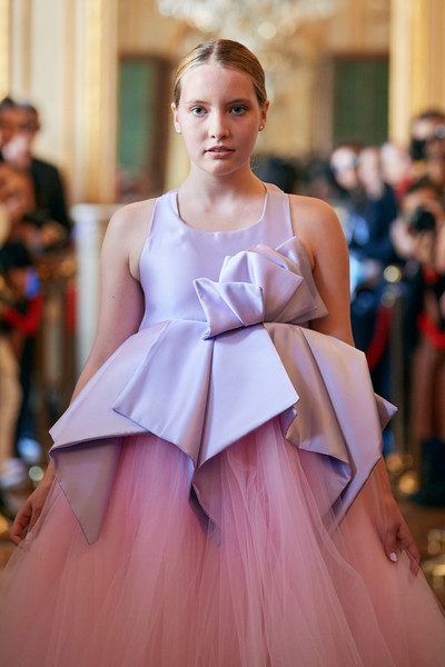 Flying Solo at Paris Spring 2022 [flying solo,face,joint,hairstyle,shoulder,textile,gown,neck,dress,waist,fashion design,gown,dress,cocktail dress,flooring,fashion,costume,haute couture,paris fashion week,fashion show,gown,haute couture,fashion,fashion show,cocktail dress,dress,costume,flooring,summer,beauty.m]