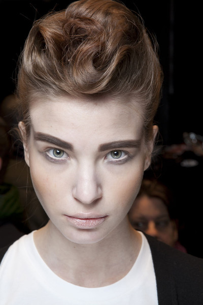 Frankie Morello at Milan Fall 2011 (Backstage)