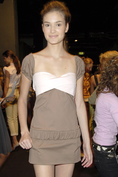 Frankie Morello at Milan Spring 2007 (Backstage)