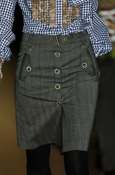 Gaetano Navarra at Milan Fall 2006 (Details)