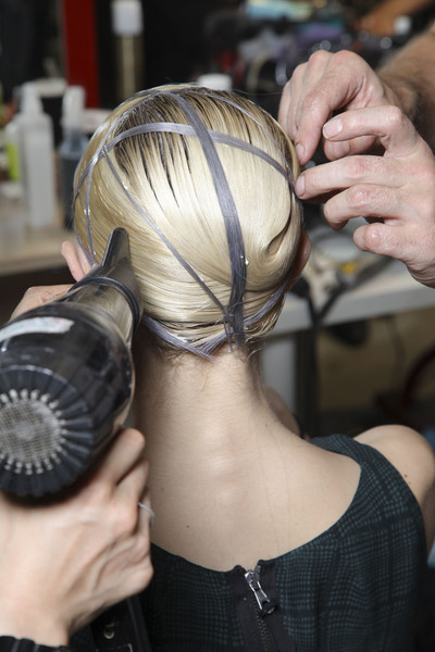 Gareth Pugh at Paris Spring 2012 (Backstage)
