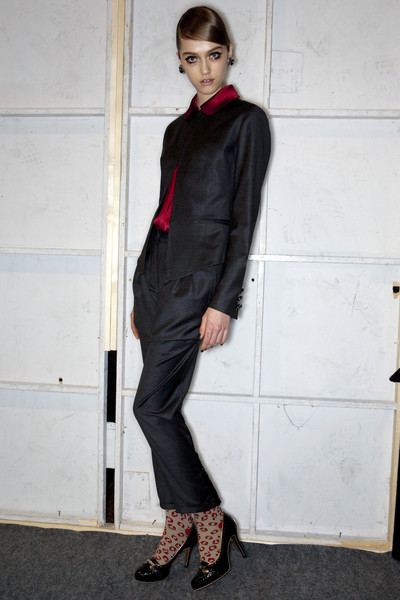 Gaspard Yurkievich at Paris Fall 2009 (Backstage)