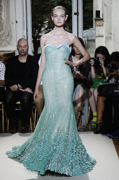 Georges Hobeika at Couture Fall 2012