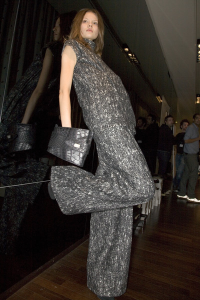 Gianfranco Ferré at Milan Fall 2008 (Backstage)