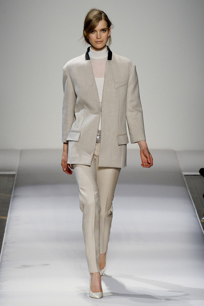 Gianfranco Ferré at Milan Fall 2011