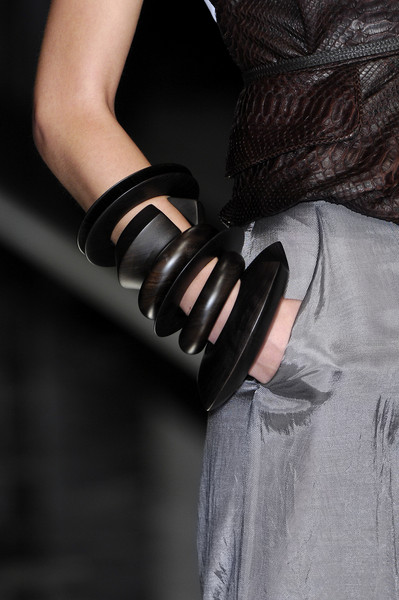 Gianfranco Ferré at Milan Spring 2008 (Details)
