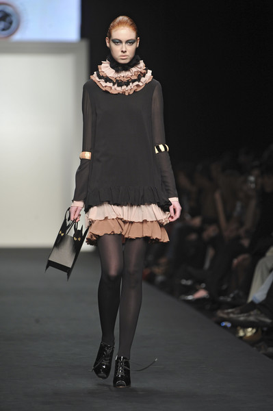 Gilda Giambra at Milan Fall 2009