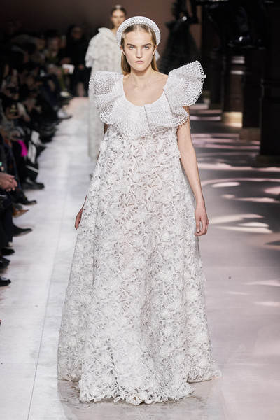Givenchy at Couture Spring 2020 [fashion model,fashion,clothing,dress,haute couture,gown,shoulder,fashion show,wedding dress,runway,haute couture,fashion,fashion week,spring,model,fashion model,givenchy,couture spring 2020,fashion show,paris fashion week,paris fashion week,clare waight keller,fashion,givenchy,haute couture,fashion week,fashion show,spring,model]
