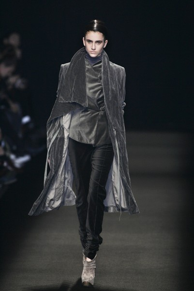 Haider Ackermann at Paris Fall 2007
