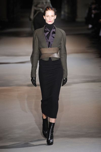 Haider Ackermann at Paris Fall 2012