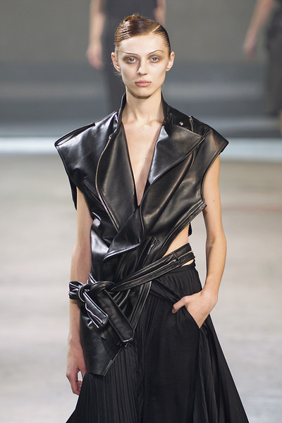 Haider Ackermann at Paris Spring 2011