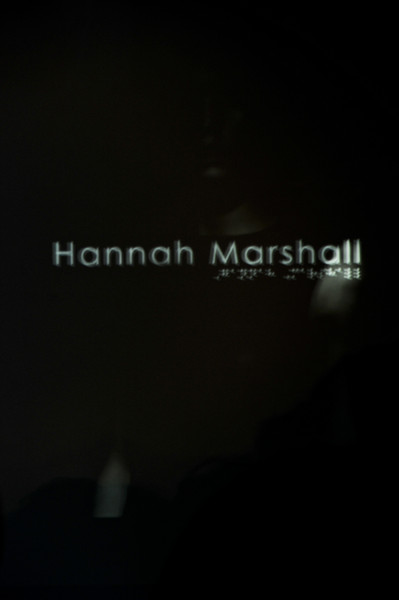 Hannah Marshall at London Spring 2011