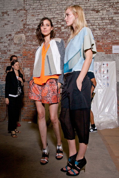 Helmut Lang at New York Spring 2013 (Backstage)