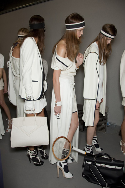 Hermès at Paris Spring 2010 (Backstage)