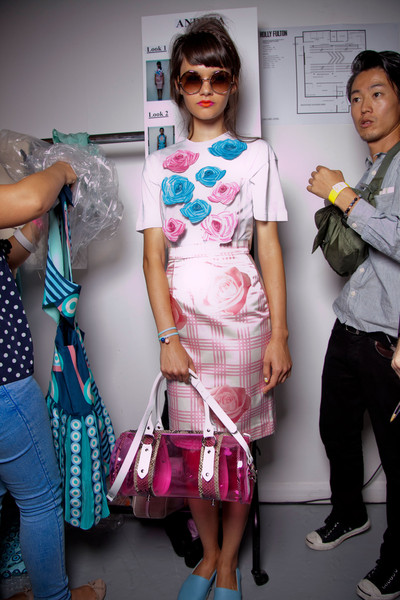 Holly Fulton at London Spring 2013 (Backstage)