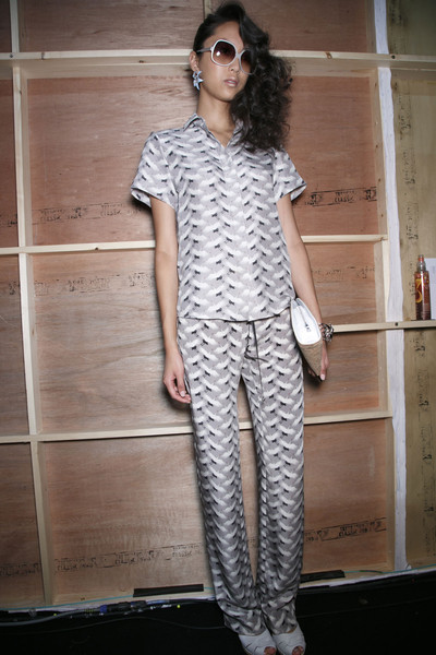 Holly Fulton at London Spring 2014 (Backstage)