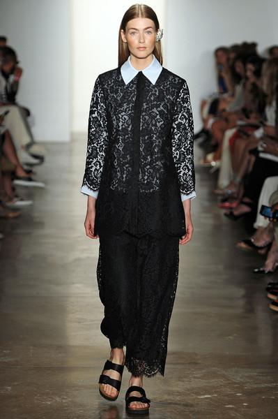 Houghton at New York Spring 2015 [fashion show,fashion,fashion model,runway,clothing,public event,event,human,outerwear,fashion design,outerwear,socialite,human,fashion,runway,model,houghton,event,new york fashion week,fashion show,runway,fashion show,fashion,model,socialite]