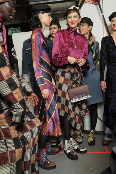House Of Holland Bks Bis at London Fall 2019 (Backstage)