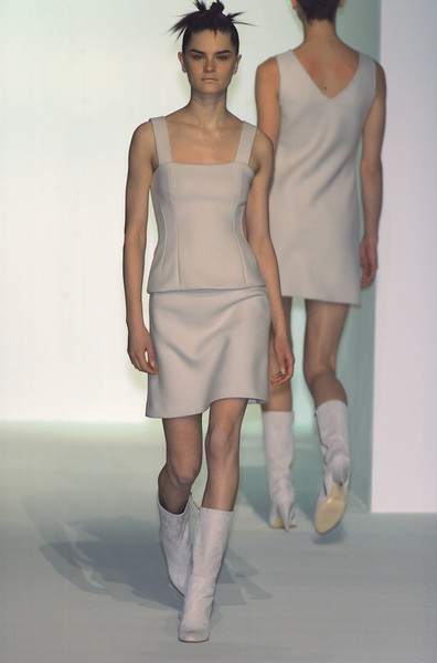 Hugo Boss at Milan Fall 2001