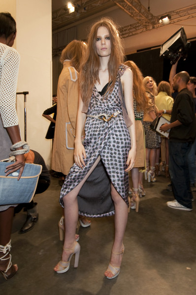 Iceberg at Milan Spring 2011 (Backstage)