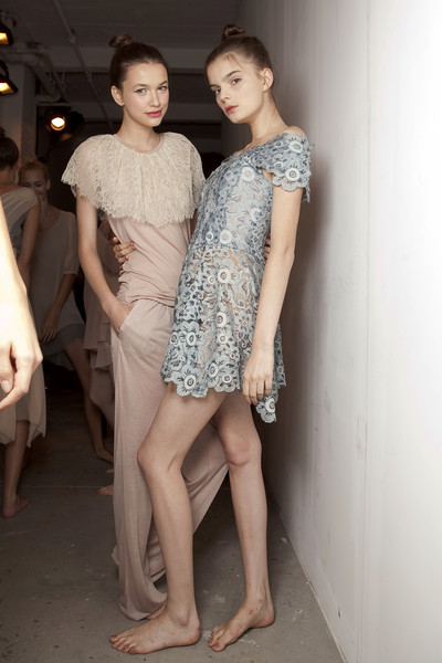 Imitation at New York Spring 2011 (Backstage)