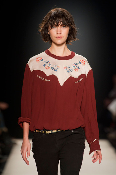 Isabel Marant at Paris Fall 2012