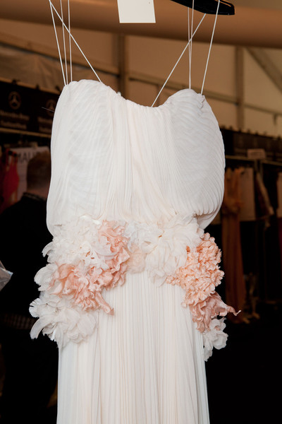 J. Mendel at New York Spring 2013 (Backstage)