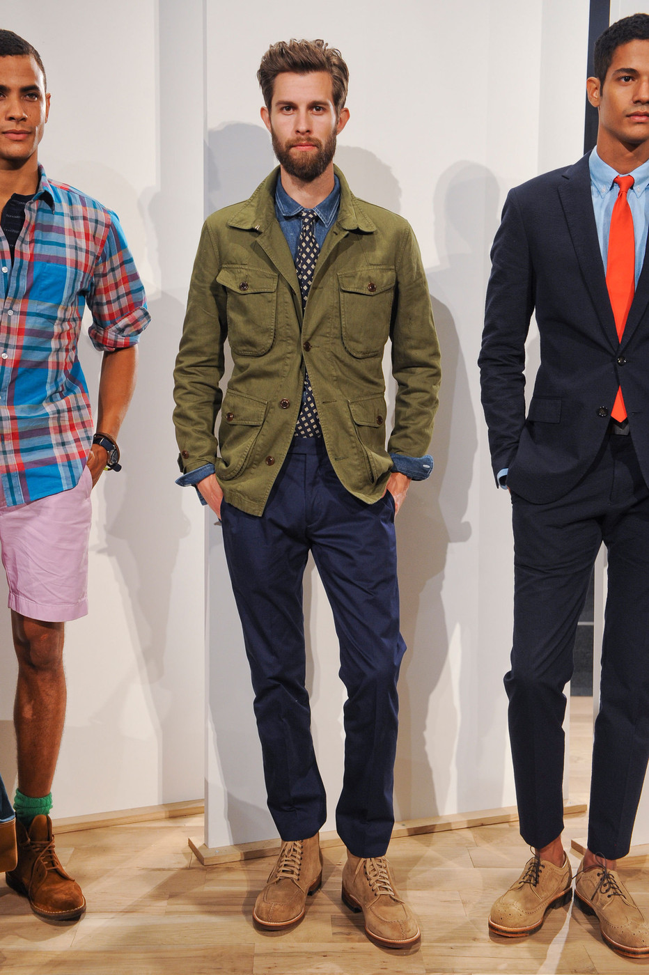J crew mens spring 2013 runway pictures livingly for J crew mens outfits