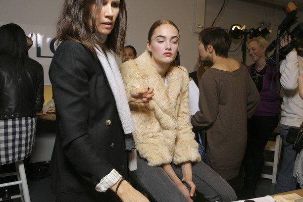 Jason Wu at New York Fall 2009 (Backstage)