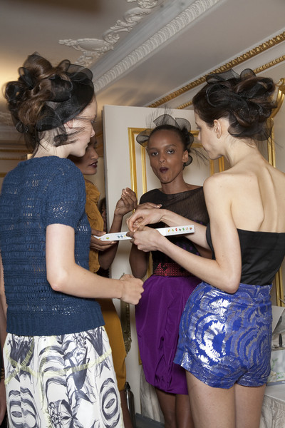 Jason Wu at New York Spring 2010 (Backstage)