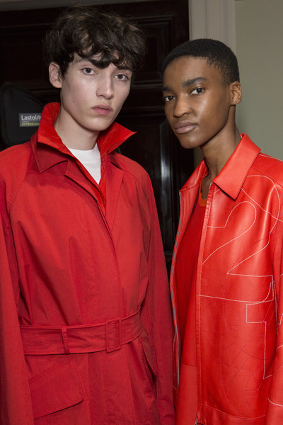 Jasper Conran at London Spring 2019 (Backstage)