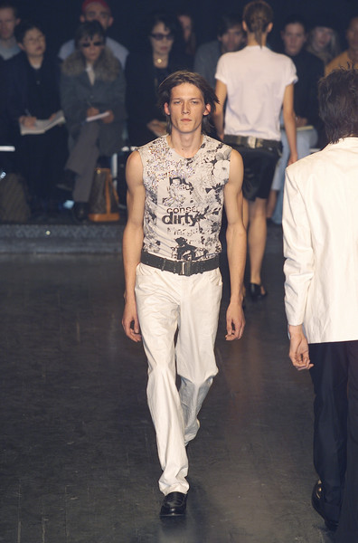 Jean Colonna at Paris Spring 2001