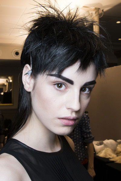 Jean Paul Gaultier at Paris Fall 2013 (Backstage)