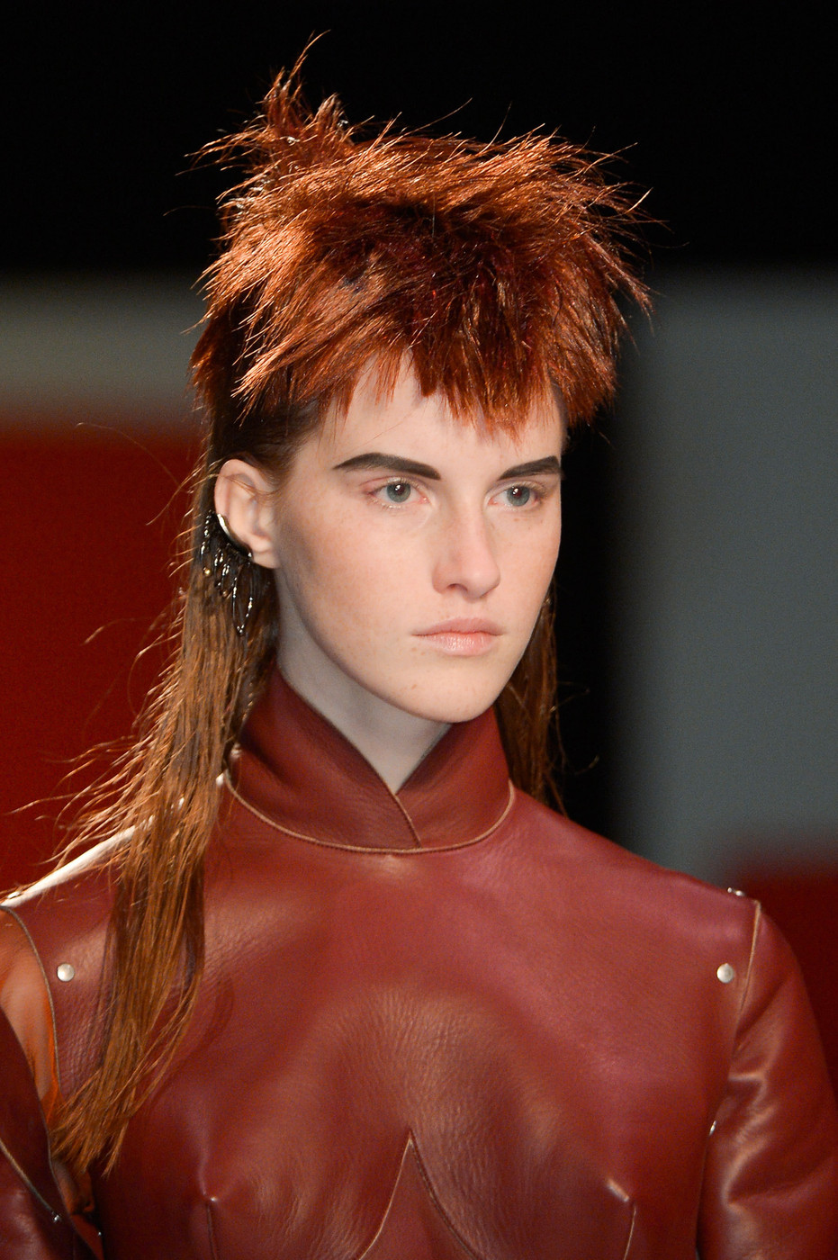 Jean Paul Gaultiers Mullet The Most Awesomely Weird Runway Looks