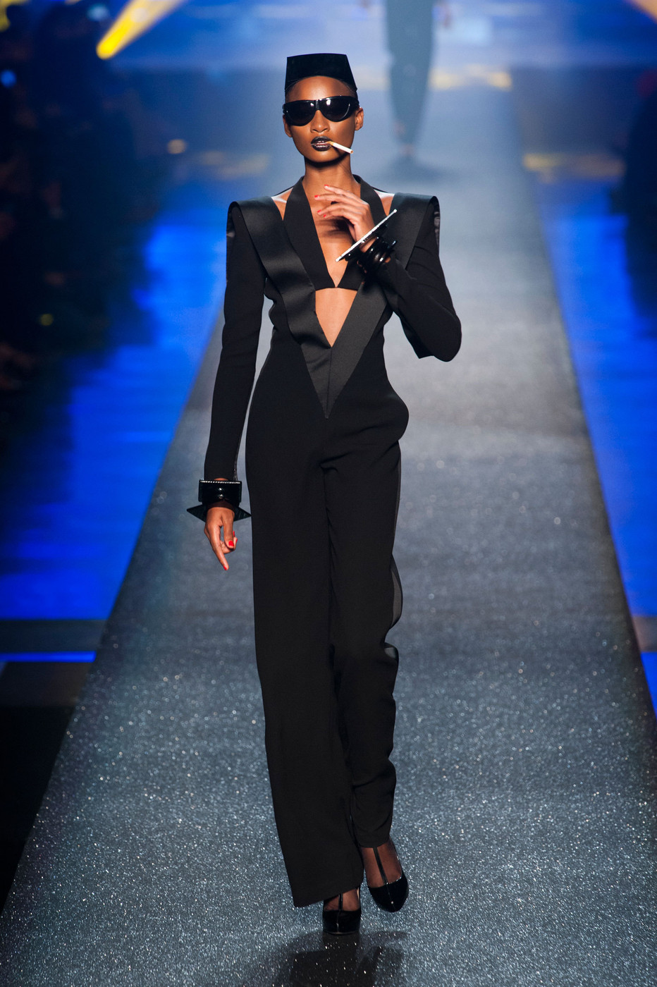 jean paul gaultier at paris fashion week spring 2013. Black Bedroom Furniture Sets. Home Design Ideas