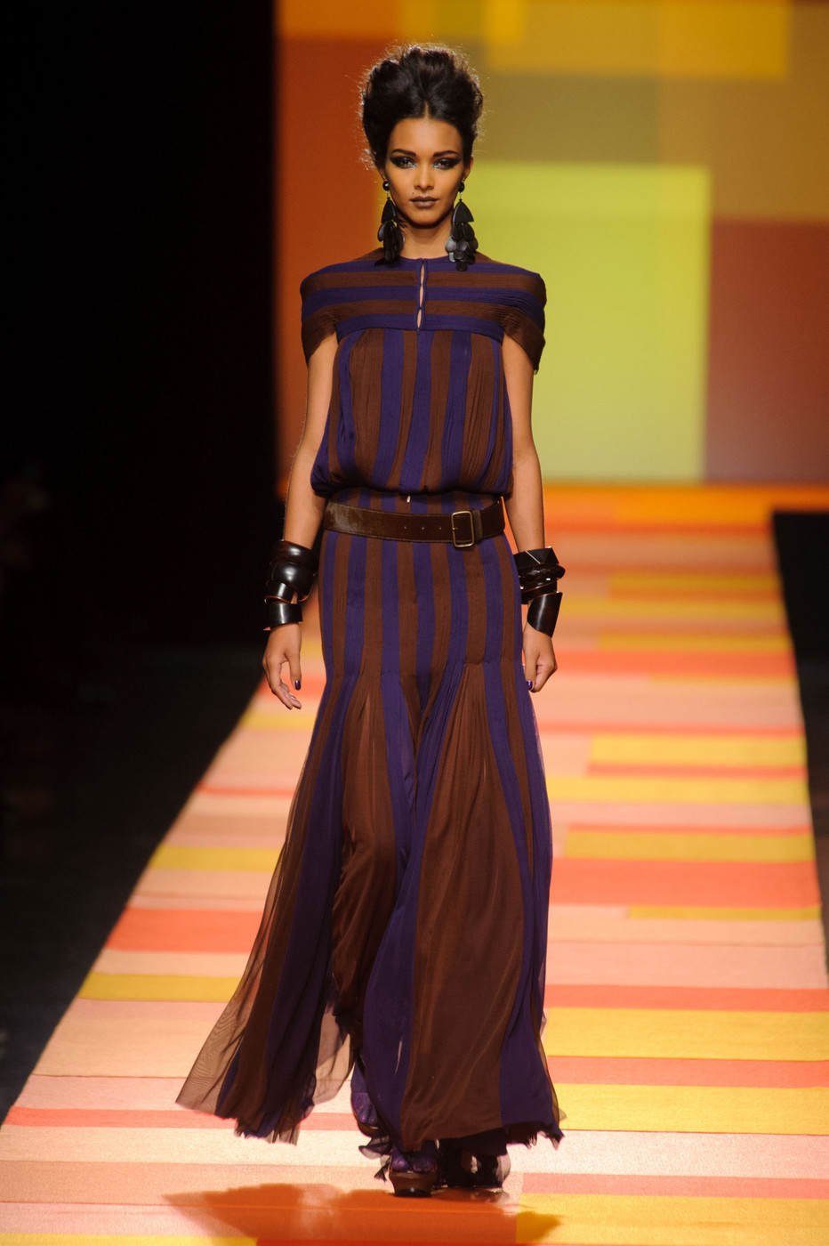 jean paul gaultier at couture spring 2013 livingly. Black Bedroom Furniture Sets. Home Design Ideas