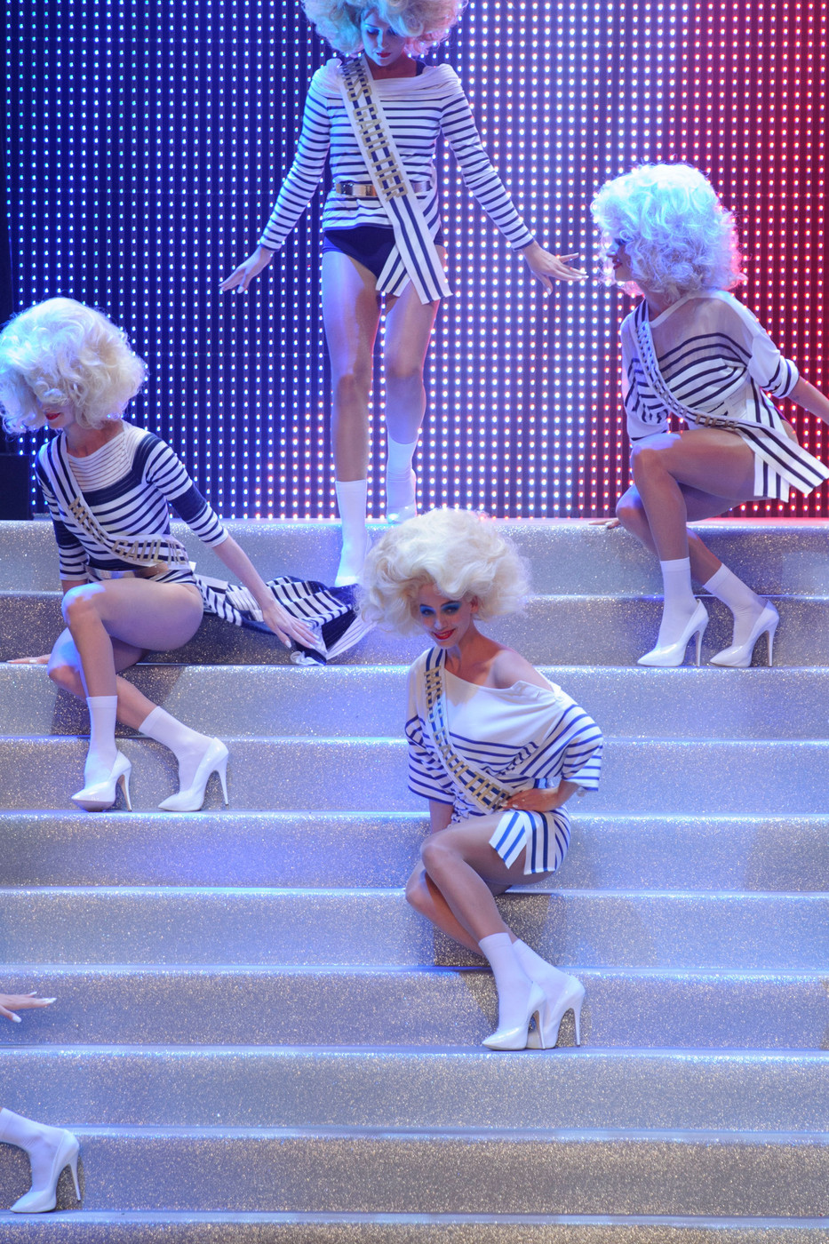 Jean paul gaultier at paris fashion week spring 2015 - Jean paul gaultier puissance 2 ...