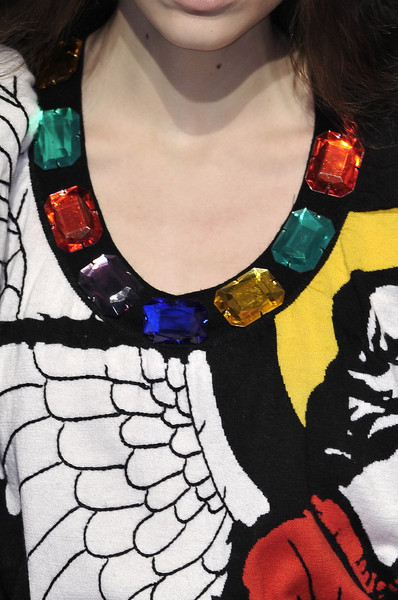 Jean-Charles de Castelbajac at Paris Fall 2010 (Details)