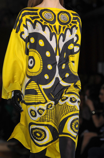 Jean-Charles de Castelbajac at Paris Fall 2012 (Details)