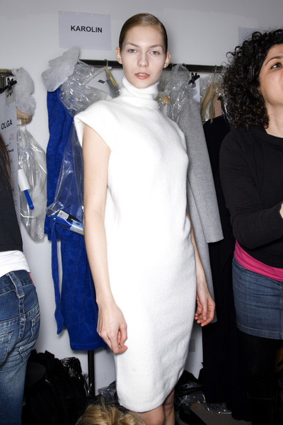 Jil Sander at Milan Fall 2009 (Backstage)