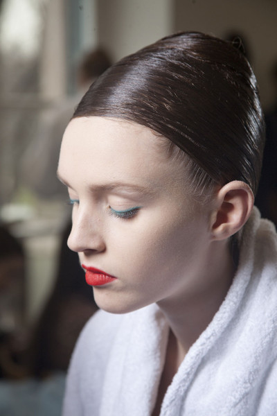 Jil Sander at Milan Fall 2011 (Backstage)