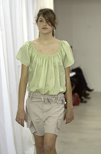 Jill Stuart at New York Spring 2002